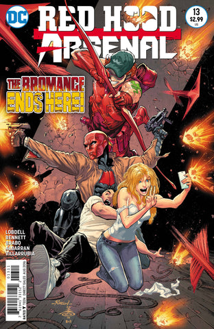 Red Hood and Arsenal #13