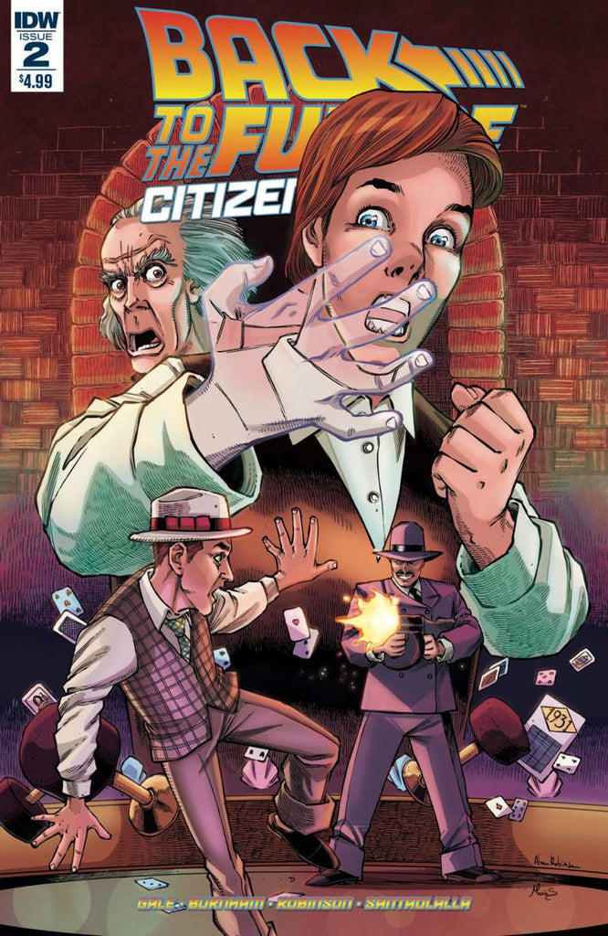 Back To The Future Citizen Brown #2