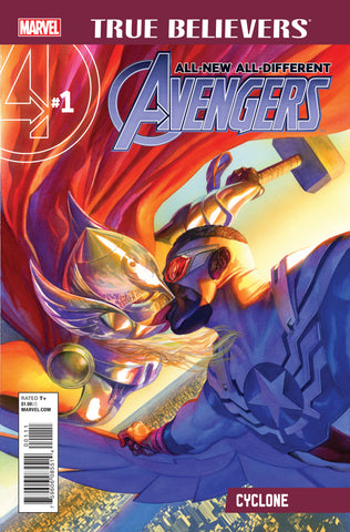 ALL NEW ALL DIFFERENT AVENGERS TRUE BELIEVERS #1