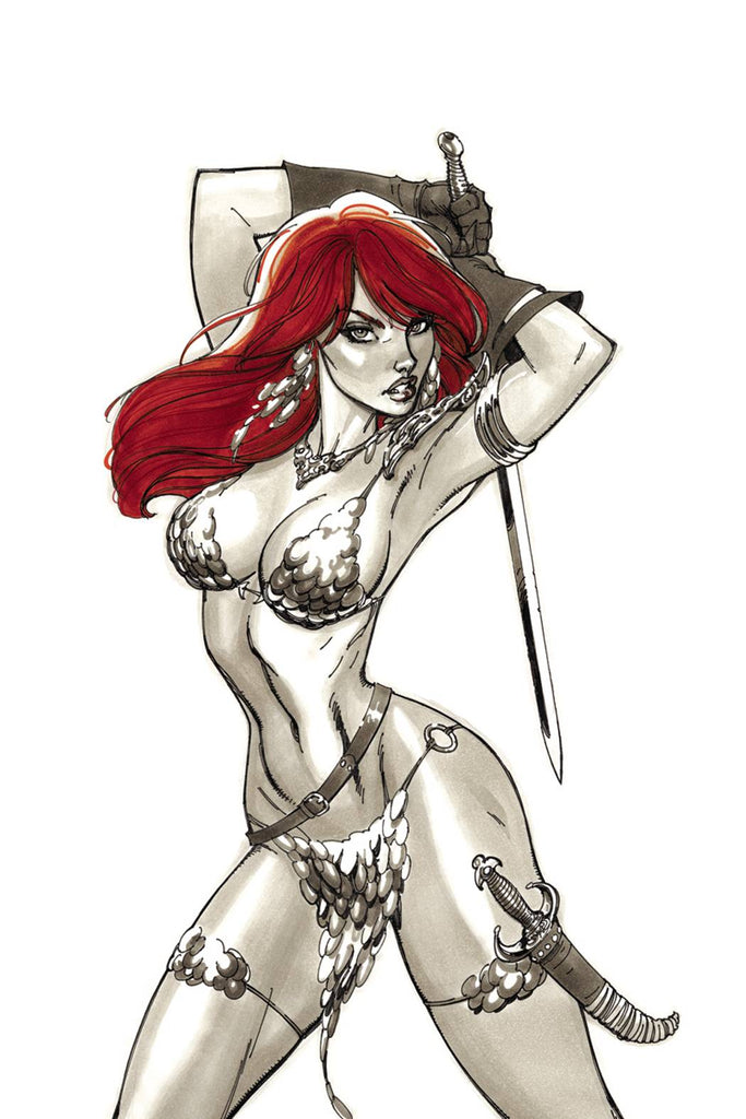 J Scott Campbell - RED SONJA Covers