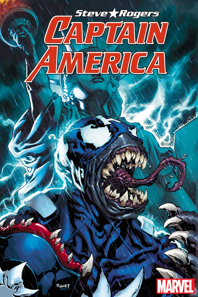 CAPTAIN AMERICA STEVE ROGERS #13 RANEY VENOMIZED VAR