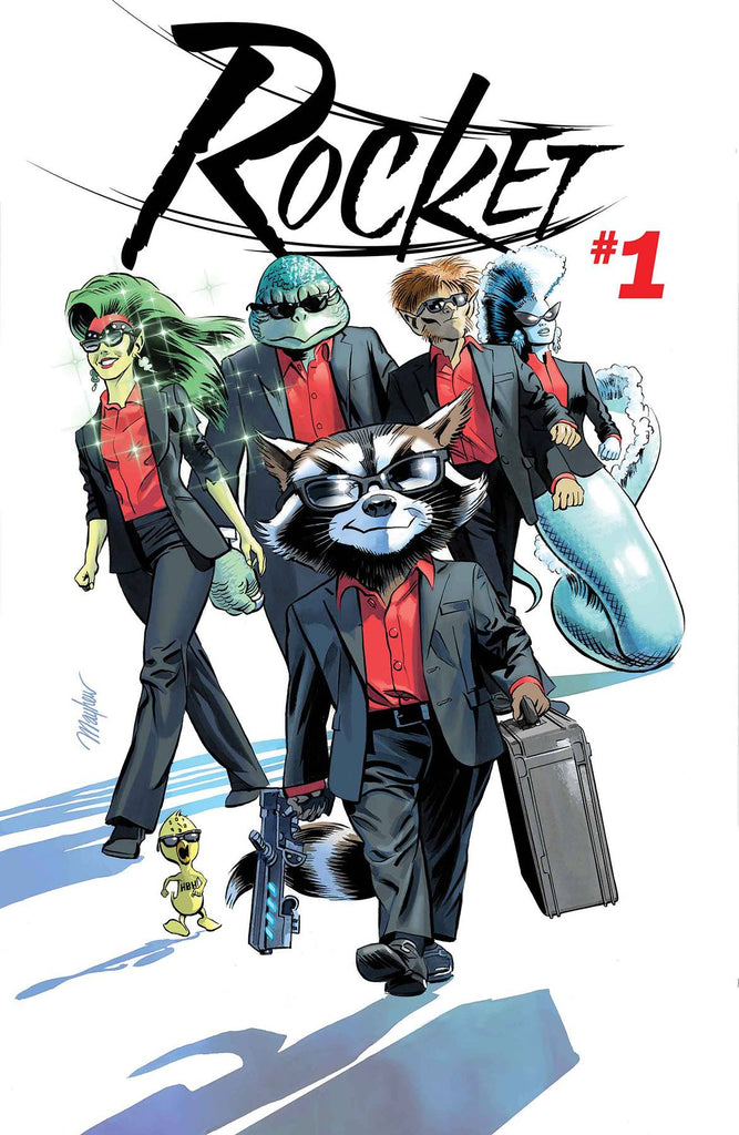 ADAM GORHAM - SIGNED - ROCKET #1