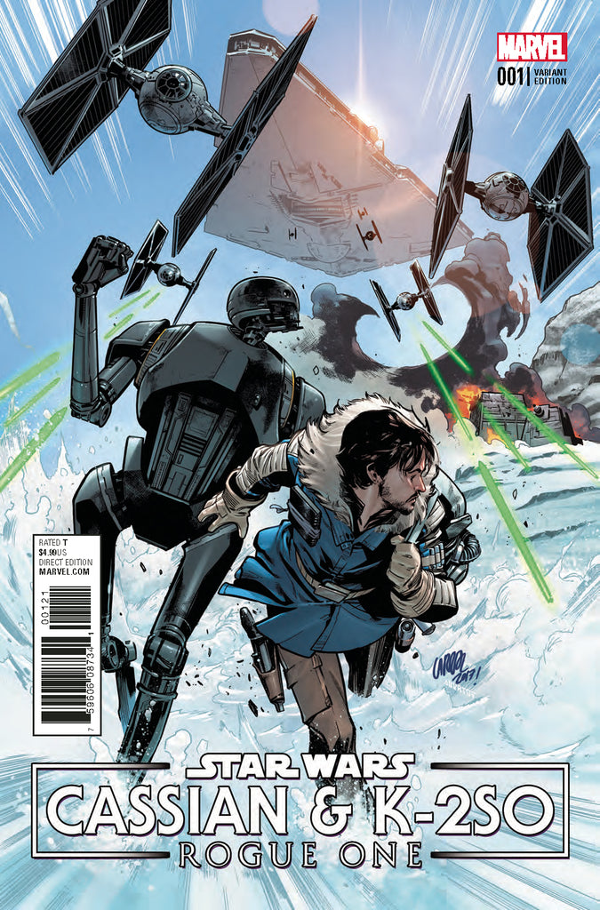 STAR WARS ROGUE ONE CASSIAN & K2SO SPECIAL #1 LARRAZ VARIANT