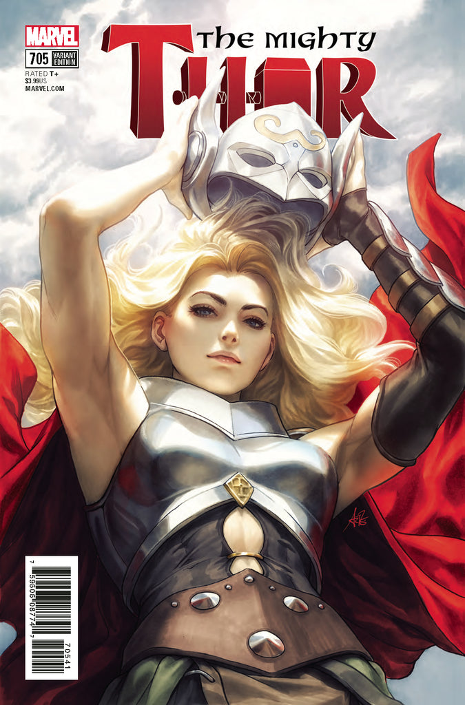 MIGHTY THOR #705 ARTGERM VARIANT (Jane Foster)