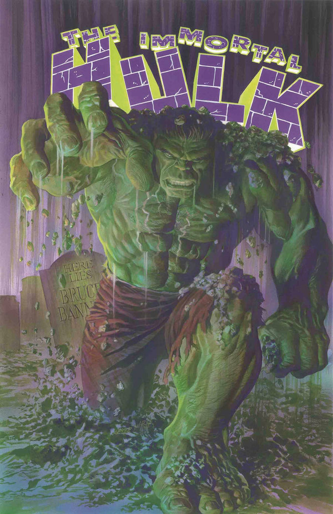 IMMORTAL HULK #1 Cover by ALEX ROSS 1st Print