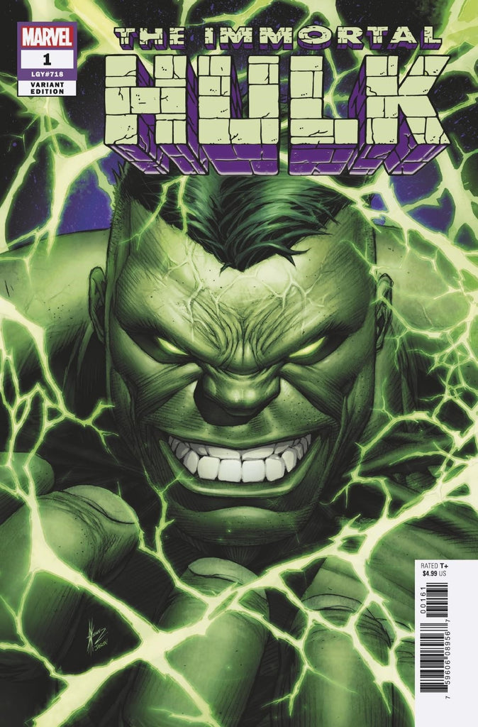 IMMORTAL HULK #1 - 1:50 KEOWN VAR