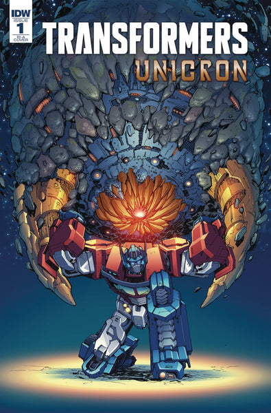 TRANSFORMERS UNICRON #1 Stadium Comics Homage Exclusive Variant Cover