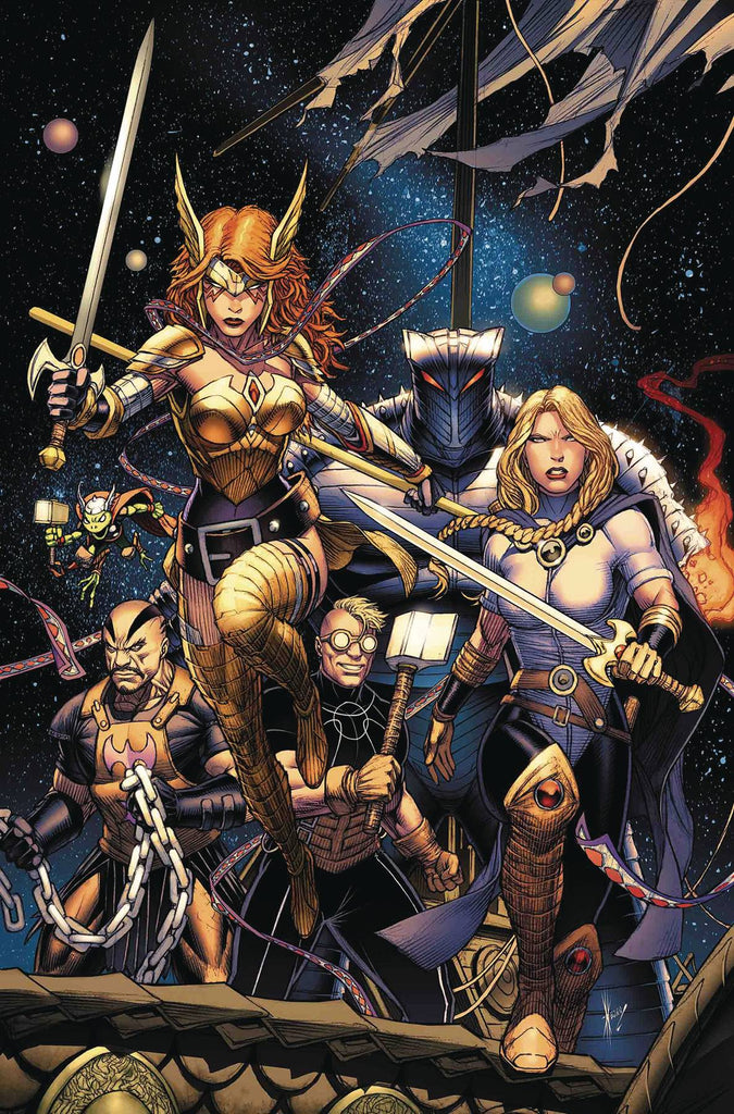 ASGARDIANS OF THE GALAXY #1 Collector's Pack Pre-order