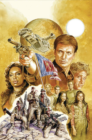 FIREFLY #1 1:15 JONES VARIANT COVER