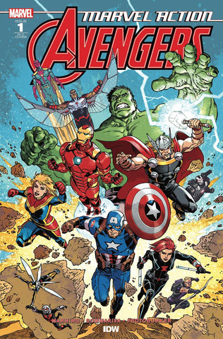MARVEL ACTION AVENGERS #1 1:50 RODRIGUEZ VARIANT COVER