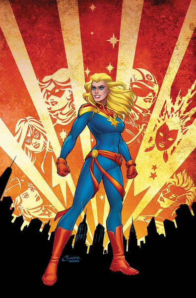 CAPTAIN MARVEL #1 Collector's Pack Pre-order