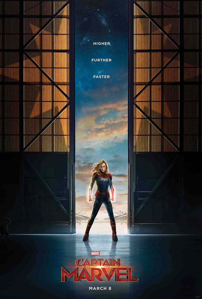 CAPTAIN MARVEL #1 1:10 Movie Variant Cover