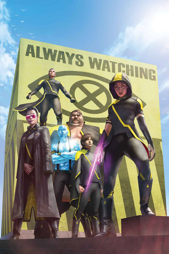 AGE OF X-MAN THE X-TREMISTS #1 Collector's Pack Pre-order