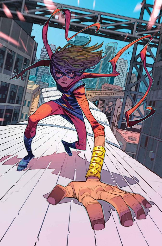 Image result for the magnificent ms marvel #1 cover