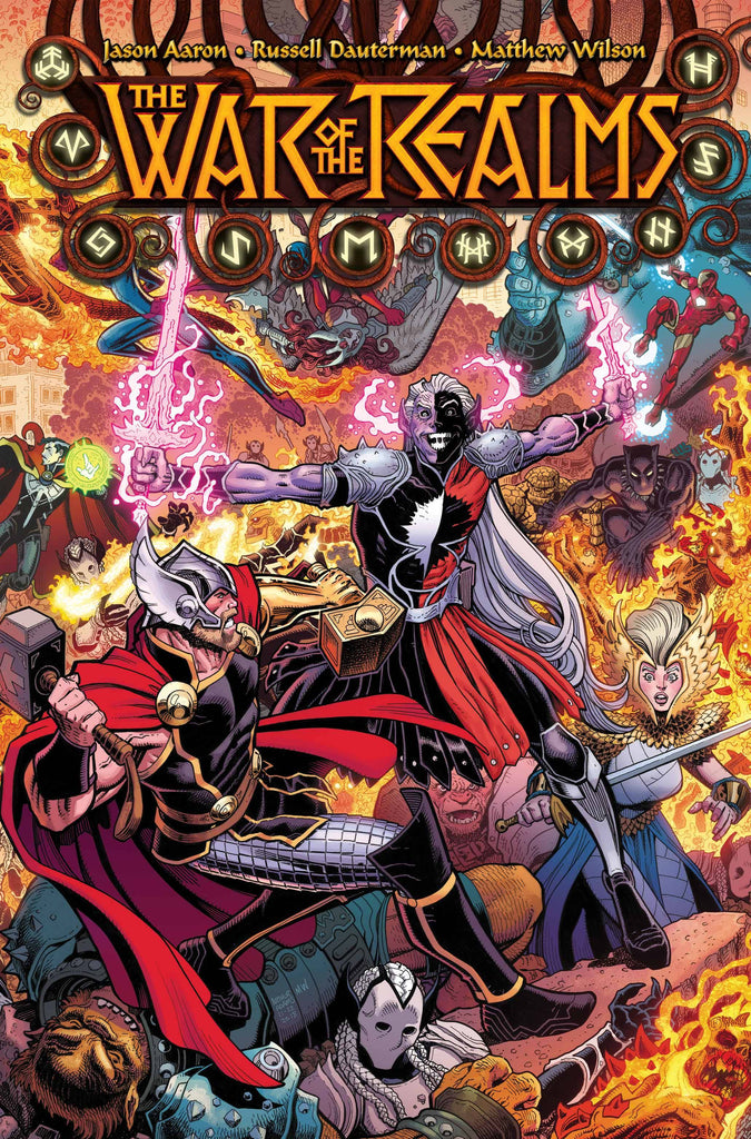 Image result for the war of the realms #1 cover