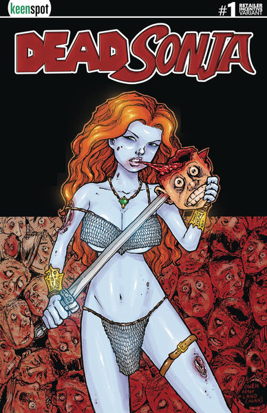 DEAD SONJA #1 Collector's Pack Pre-order