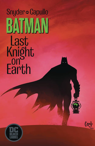 BATMAN LAST KNIGHT ON EARTH #1 Collector's Pack Pre-order
