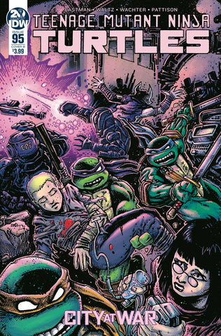 TMNT ONGOING #95 CVR B EASTMAN