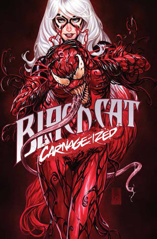 BLACK CAT #2 CARNAGE-IZED VARIANT COVER BY MARK BROOKS