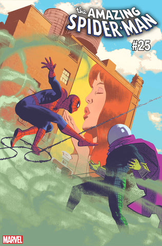 AMAZING SPIDER-MAN #25 1:50 VARIANT COVER BY Greg Smallwood