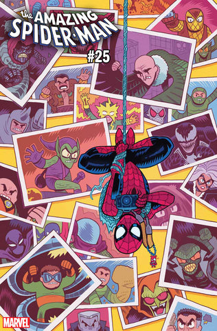 AMAZING SPIDER-MAN #25 1:25 VARIANT COVER BY Dan Hipp