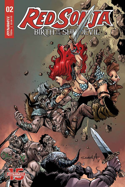 RED SONJA BIRTH OF SHE DEVIL #2 - DAVILA VARIANT COVER PACK