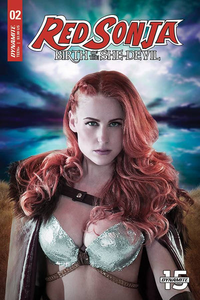 RED SONJA BIRTH OF SHE DEVIL #2 COSPLAY Variant Covers Pre-order