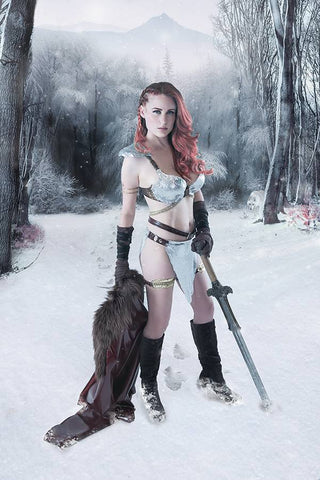 RED SONJA BIRTH OF SHE DEVIL #3 - COSPLAY VARIANT COVER PACK