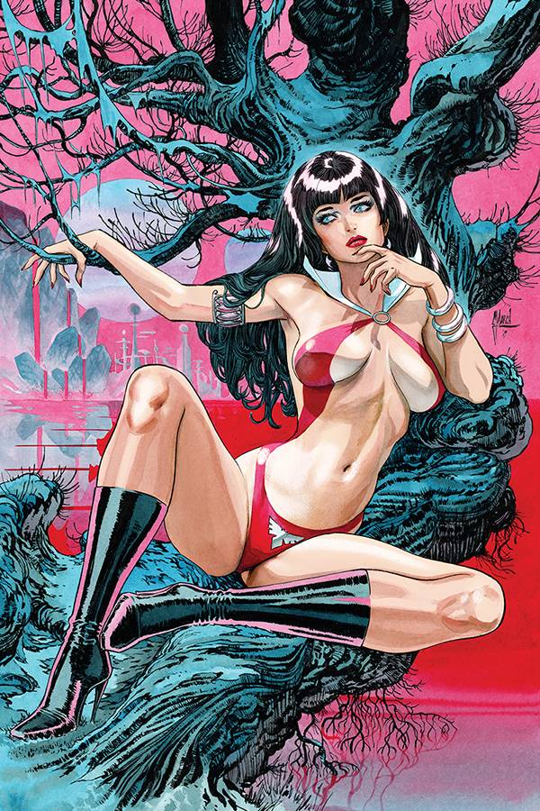 VAMPIRELLA #2 - MARCH VARIANT COVER PACK