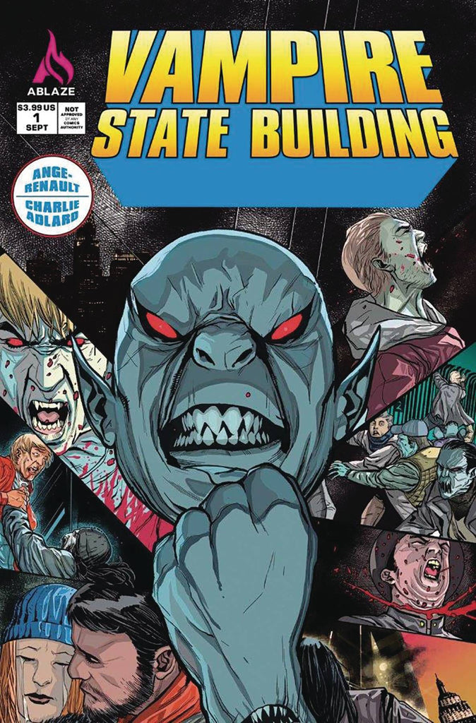 VAMPIRE STATE BUILDING #1 Collector's Pack Pre-order