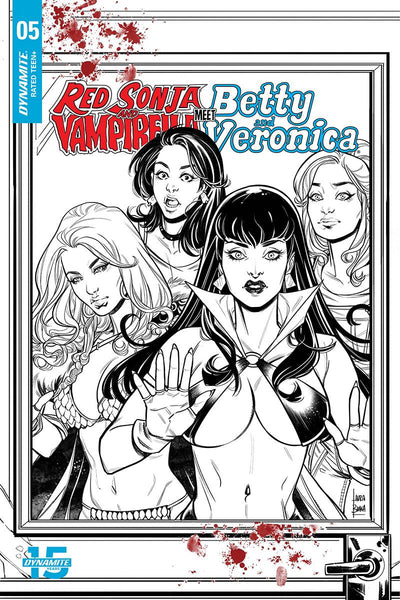 RED SONJA VAMPIRELLA BETTY VERONICA #5 - BRAGA VARIANT COVER PACK