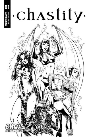 CHASTITY #1 - J. Scott Campbell Cover Pack Pre-order