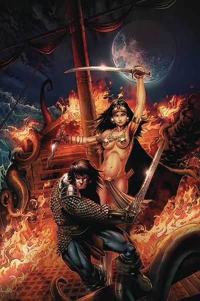 CIMMERIAN QUEEN OF BLACK COAST #1 Collector's Pack Pre-order