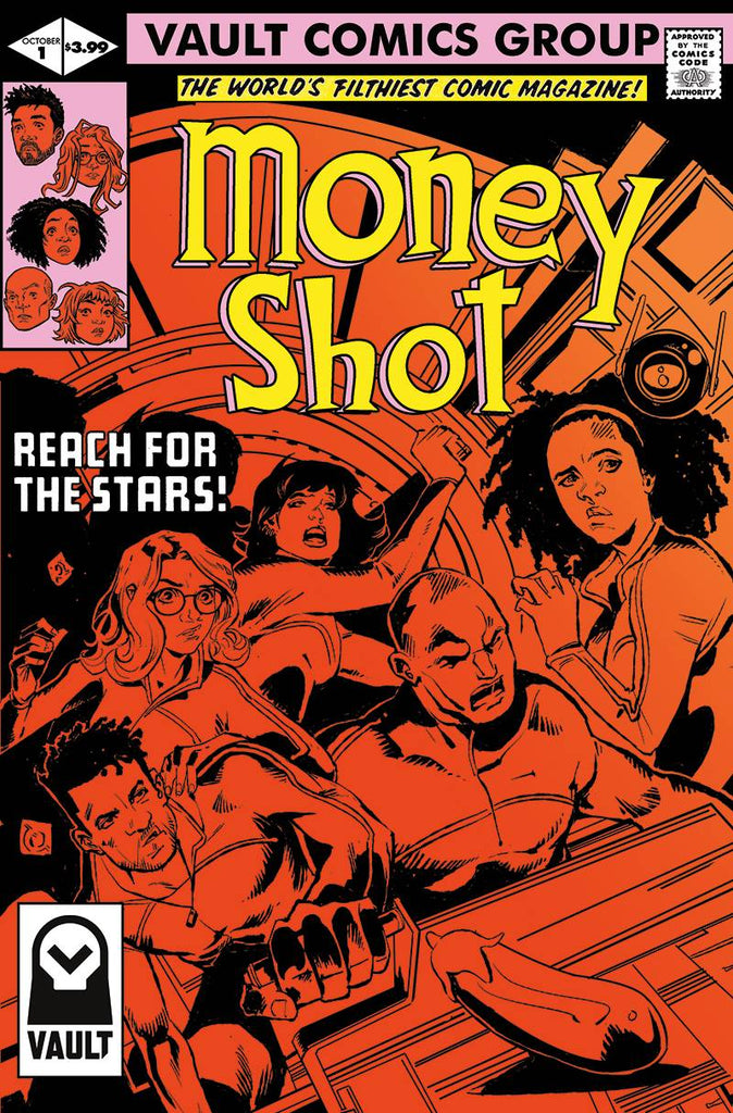 MONEY SHOT #1 Collector's Pack Pre-order