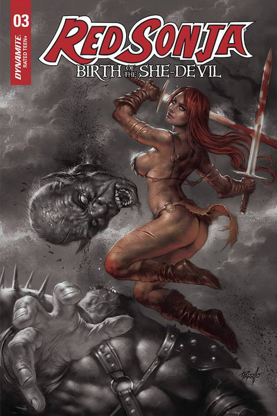 RED SONJA BIRTH OF SHE DEVIL #3 - PARRILLO VARIANT COVER PACK