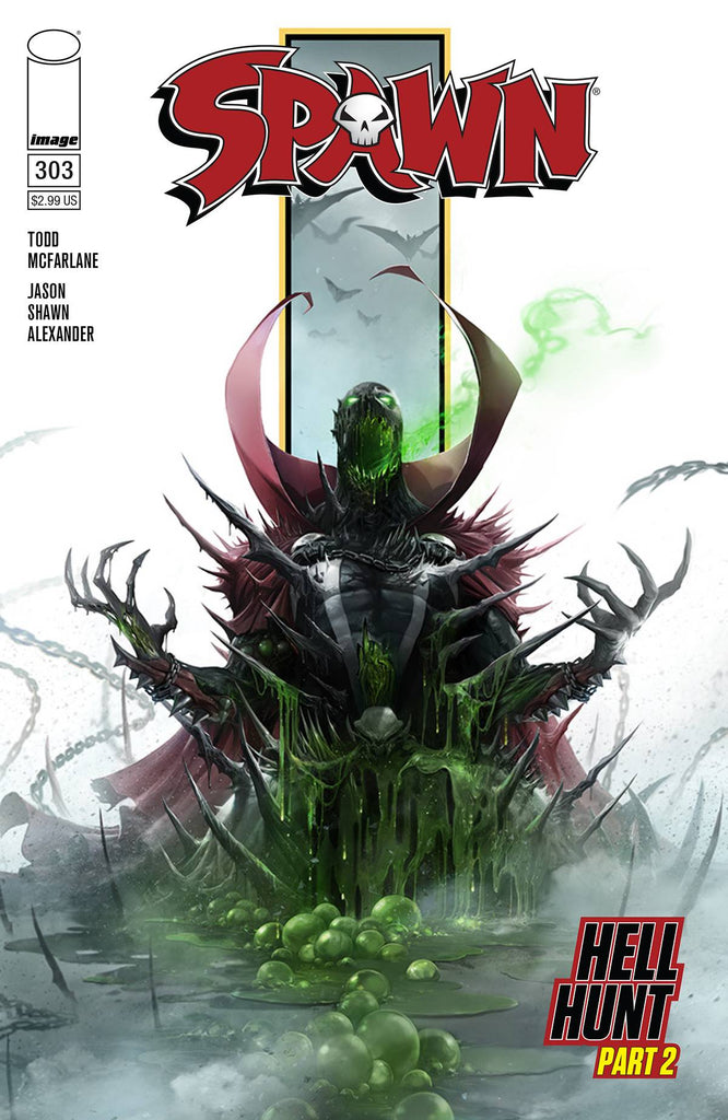 SPAWN #303 Cover Pack Pre-order