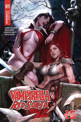 VAMPIRELLA RED SONJA #1 - 1:21 In-Hyuk Lee Variant Cover Pre-order
