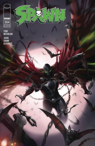 SPAWN #304 Cover Pack Pre-order