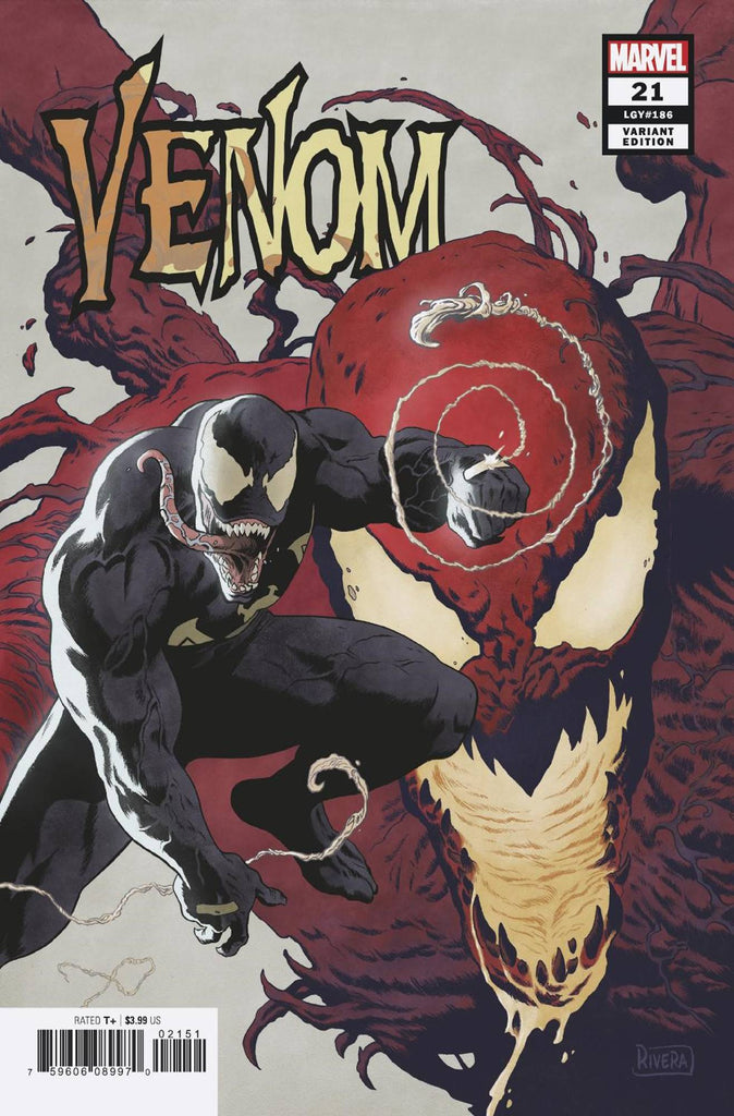 Venom #1 1:25 Rivera Variant Marvel NM Comics Book Pre Sale Fast Shipping