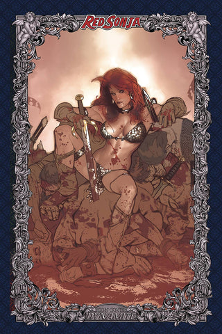 RED SONJA AGE OF CHAOS #3 - 1:60 ADAM HUGHES ICON VARIANT COVER Pre-order