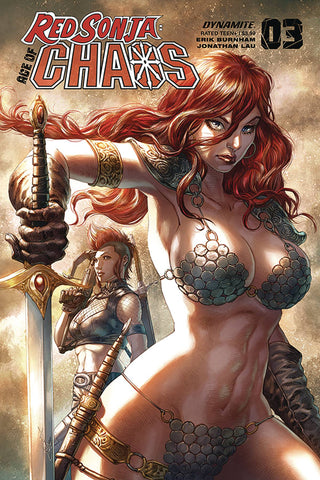 RED SONJA AGE OF CHAOS #3 QUAH Cover Pack Pre-order