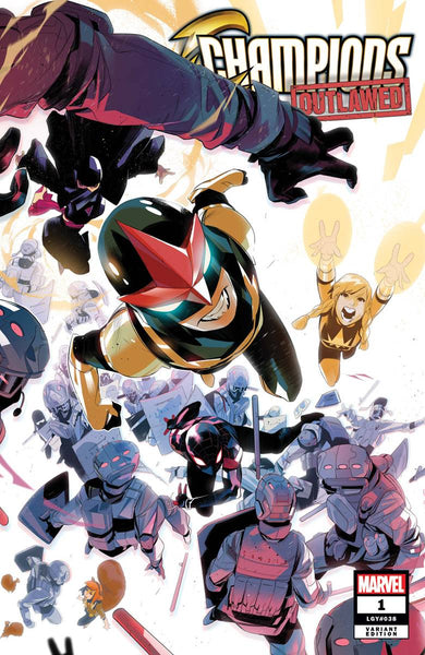 CHAMPIONS #1 Collector's Pack Pre-order