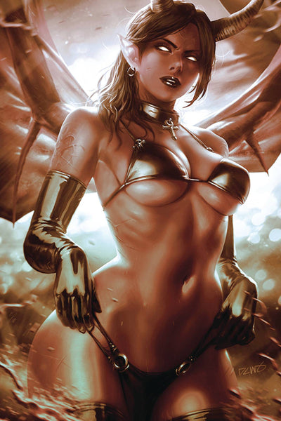 RED SONJA AGE OF CHAOS #4 DERRICK CHEW Cover Pre-order