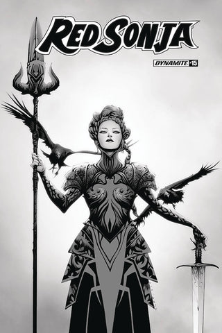 RED SONJA #15 1:30 JAE LEE B&W VARIANT COVER Pre-order