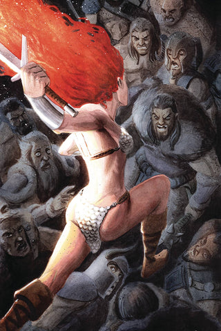 RED SONJA #15 1:40 BOB Q VIRGIN VARIANT COVER Pre-order