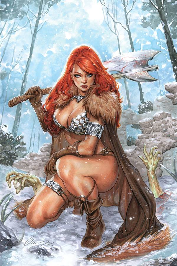 RED SONJA AGE OF CHAOS #3 ELIAS CHATZOUDIS Cover Pack Pre-order