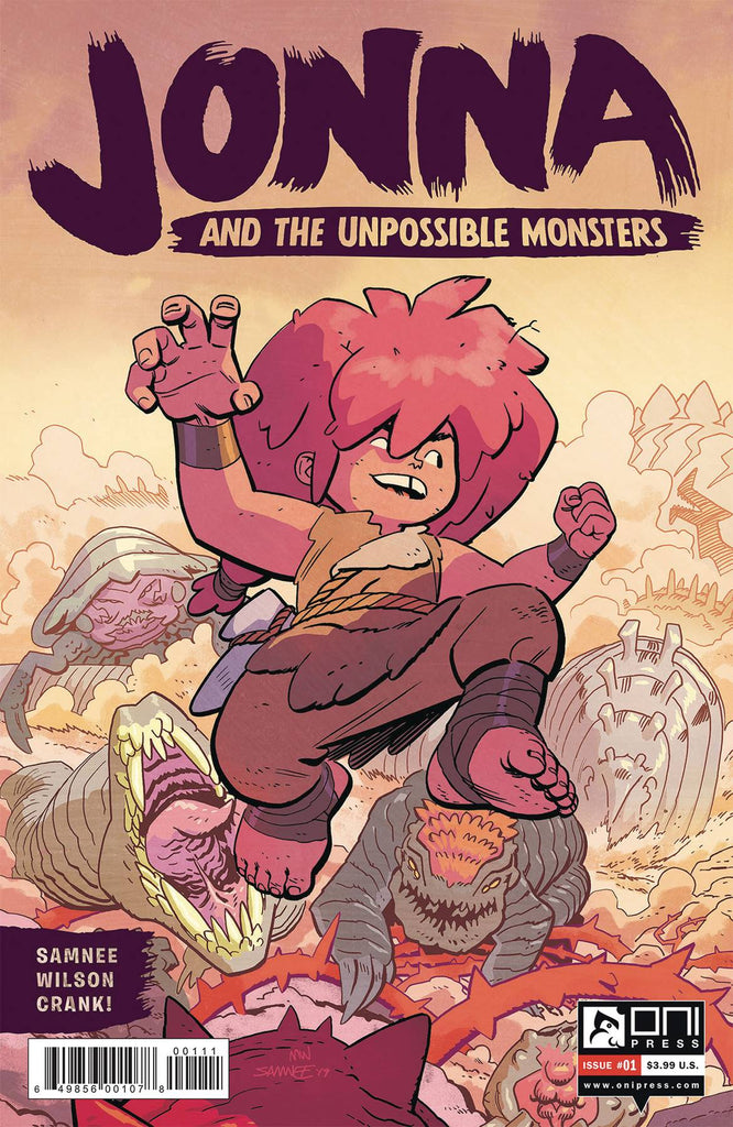 JONNA AND THE UNPOSSIBLE MONSTERS #1 PRE-ORDER