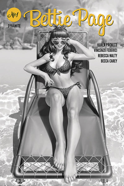 BETTIE PAGE #1 Jung-Geun Yoon Cover Pack Pre-order