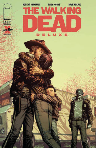 WALKING DEAD DELUXE #3 Collector's Pack Pre-order