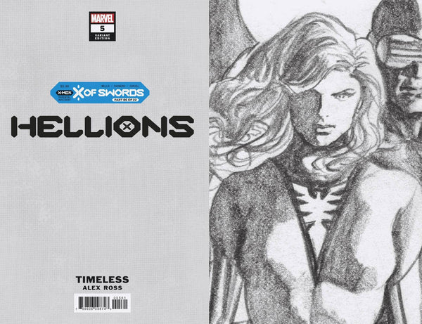 HELLIONS #5 - X OF SWORDS CHAPTER 6 Pre-order